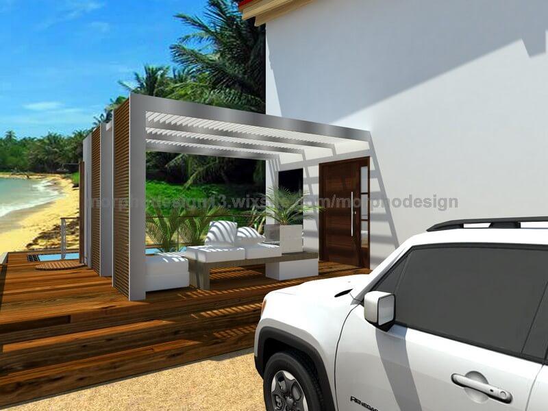 maison modulaire beach 001 prefabri steel espagne et europe. Black Bedroom Furniture Sets. Home Design Ideas