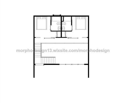 casa modular beach plano primera planta