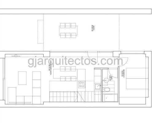 casa modular city 001 - plano planta baja