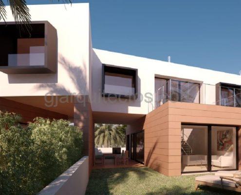 maison modulaire city 001 prefabri steel espagne et europe. Black Bedroom Furniture Sets. Home Design Ideas