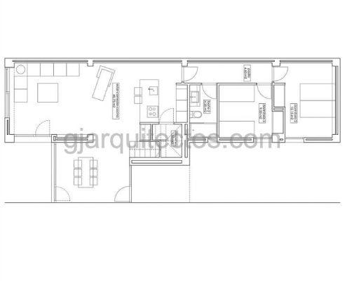 modular home city 002 - ground floor plan