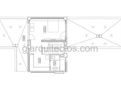 modular home city 002 - first floor plan