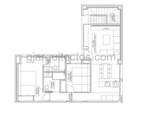 casa modular city 003 - plano planta baja
