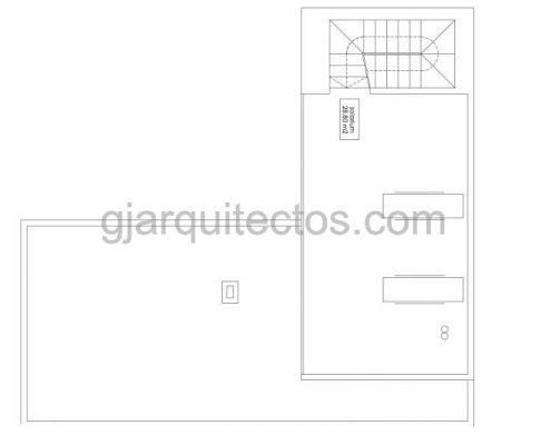 casa modular city 003 - plano primera planta