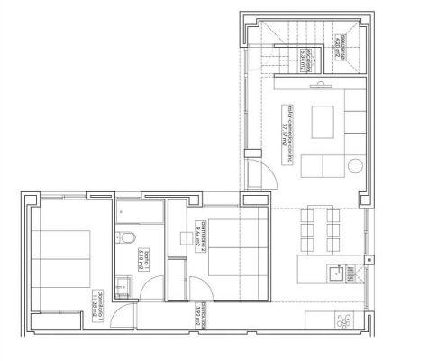 casa modular city 004 - plano planta baja
