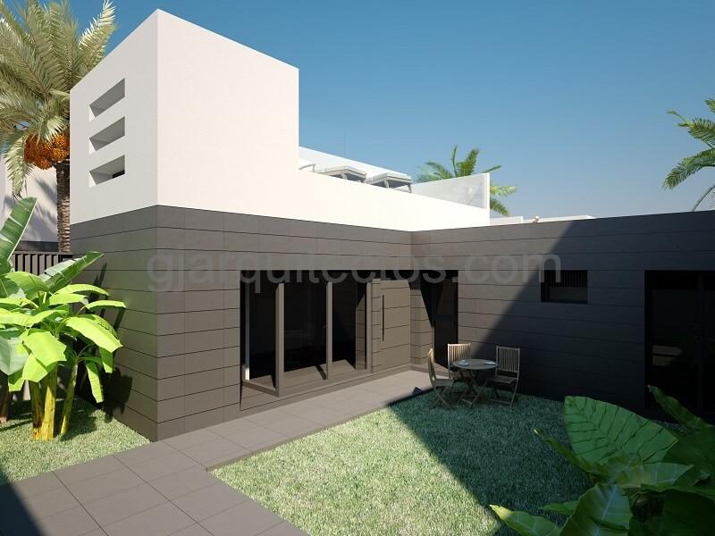 maison modulaire city 004 prefabri steel espagne et europe. Black Bedroom Furniture Sets. Home Design Ideas