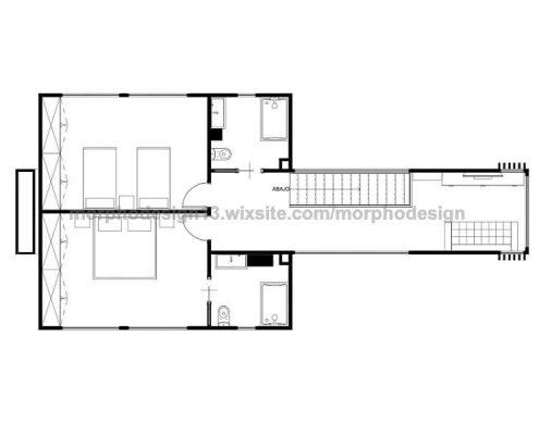 modular home village 001 - first floor plan