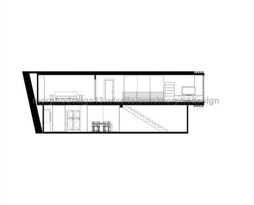 modular home village 001 - section plan