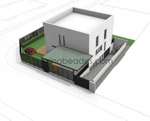 Maison modulaire city 005 prefabri steel espagne et europe - Maison modulaire espagnole ...