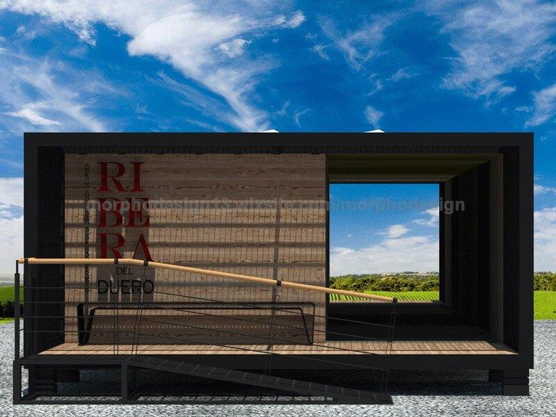 modular hotel 001 of wine tourism 02