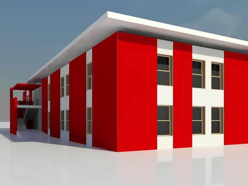 oficina prefabricada modular