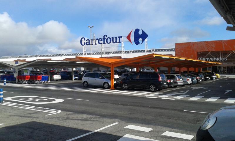 Parking carrefour prefabri steel for Alquiler de aparcamiento